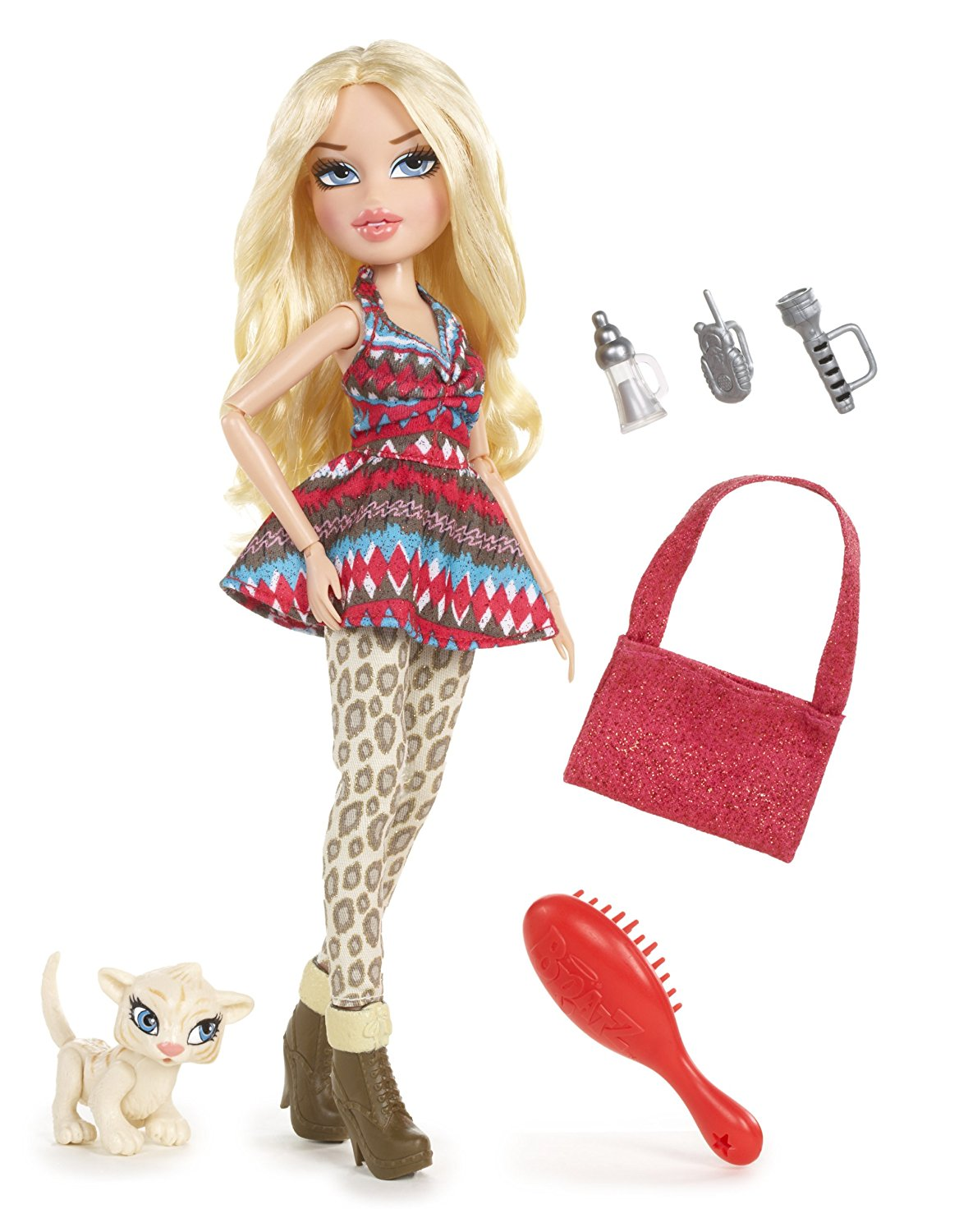 in The Wild Cloe Doll, Stylish safari fashions and hiking accessories By Bratz Ship from US by