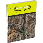 Realtree Xtra Camo Spiral Bound Wide Rule Notebook, 80 Sheets