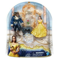 Hasbro HSBB9169 Disney Princess Beauty & The Beasts Belle & Beast Movie Moment - Set of 4