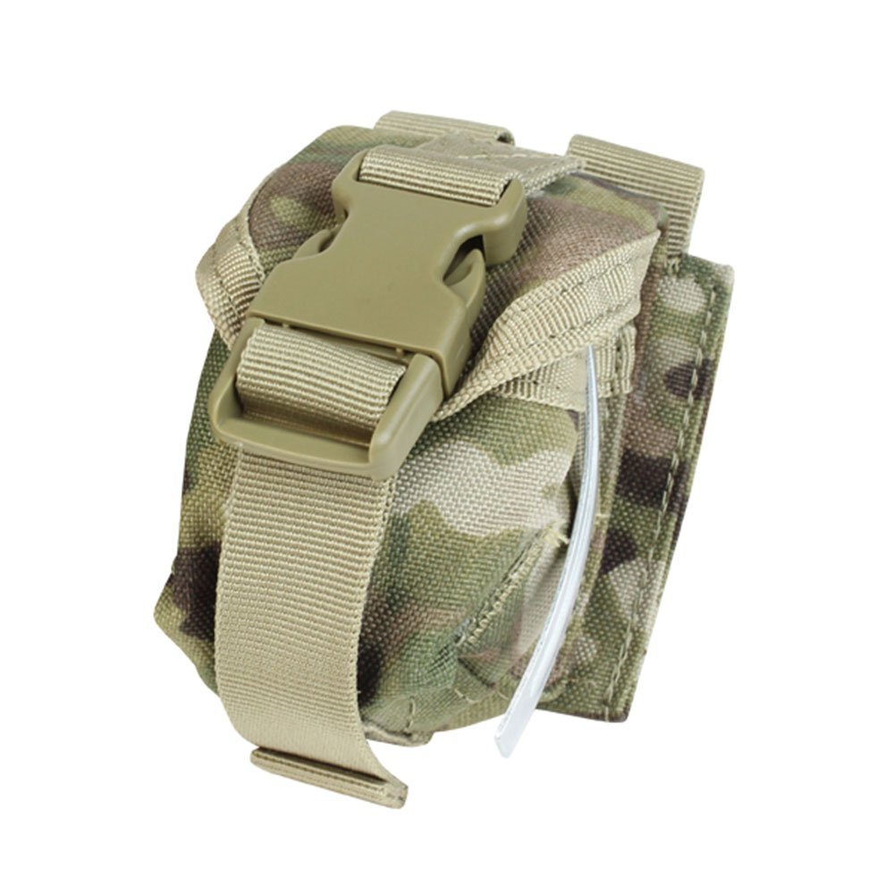 Outdoor Single Frag Grenade Pouch Color- Multicam, SINGLE FRAG GRENADE POUCH, MULTICAM By CONDOR