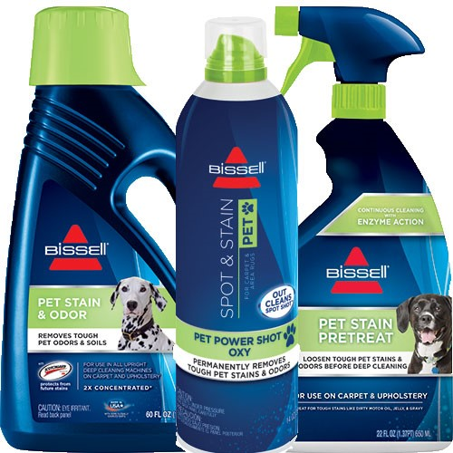 Bissell Spot & Stain Pet Deep Cleaning Formula Kit