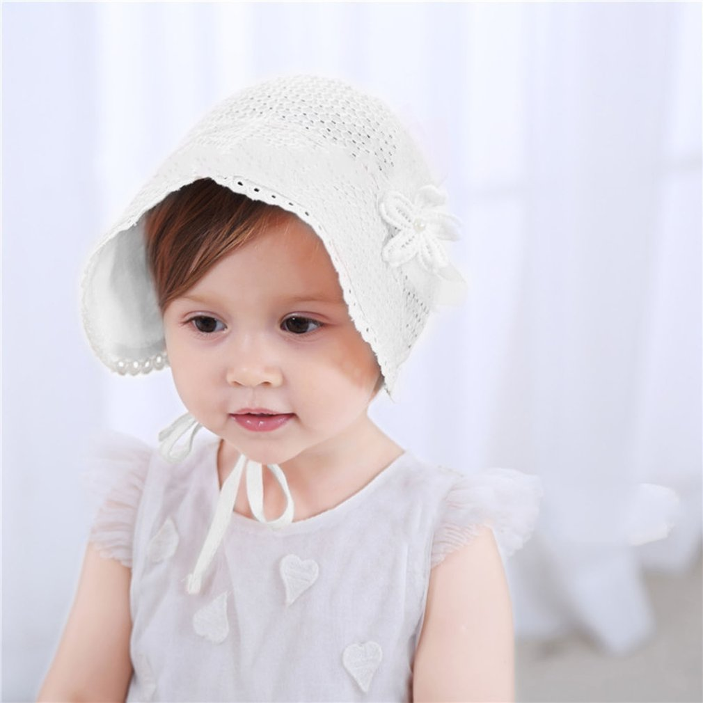 New Edition Baby Girls Boys Sun Hat Summer Cute Solid Color Hollow Out Fisherman  Hat 9bf2734bafa