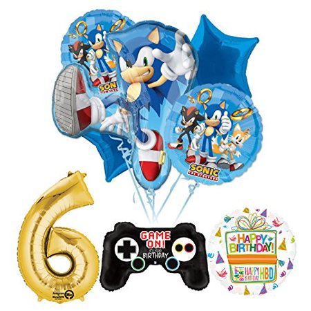 The Ultimate Sonic The Hedgehog 6th Birthday Party Supplies](Party Supply Stores Mn)