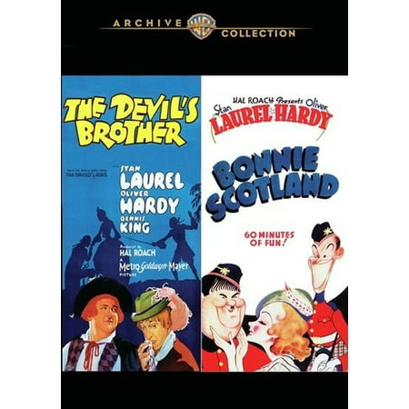 The Devil's Brother / Bonnie Scotland (DVD) (The Flying Burrito Brothers Devil In Disguise)
