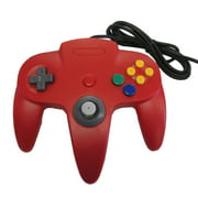 N64 USB Controller - Red - For Window, Mac, and Linux by Mars Devices