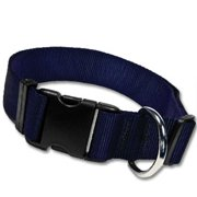 Strapworks AC-BL1-XL 1 W inch Adjustable Basic Line Dog Collar - Extra Large