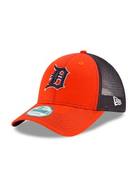 d6664526c Product Image Detroit Tigers New Era Bold Mesher 9FORTY Adjustable Hat -  Orange Navy - OSFA