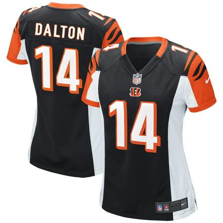 Andy Dalton Cincinnati Bengals Nike Women's Game Jersey - Black Cincinnati Bengals Autographed Jerseys