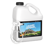 lizard defense one gallon (128 oz) natural repellent and deterrent for all lizards and geckos