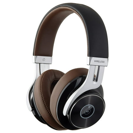 Stereo Volume Pedal - Edifier W855BT Bluetooth Headphones - Over-ear Stereo Wireless Headphone with Microphone and Volume Control - Brown/Black