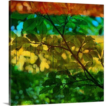 Great BIG Canvas | Sisa Jasper Premium Thick-Wrap Canvas entitled Abstract Leaf Study I