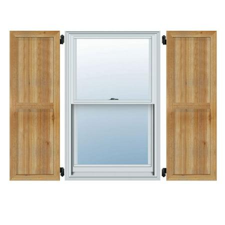32 1 4 W x 31 H TimberCraft Six 5 3 8 Boards Framed Board n Batten Sh