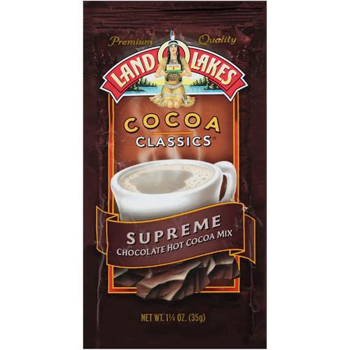 Land O Lakes Supreme Chocolate Hot Cocoa Mix, 1.25 oz