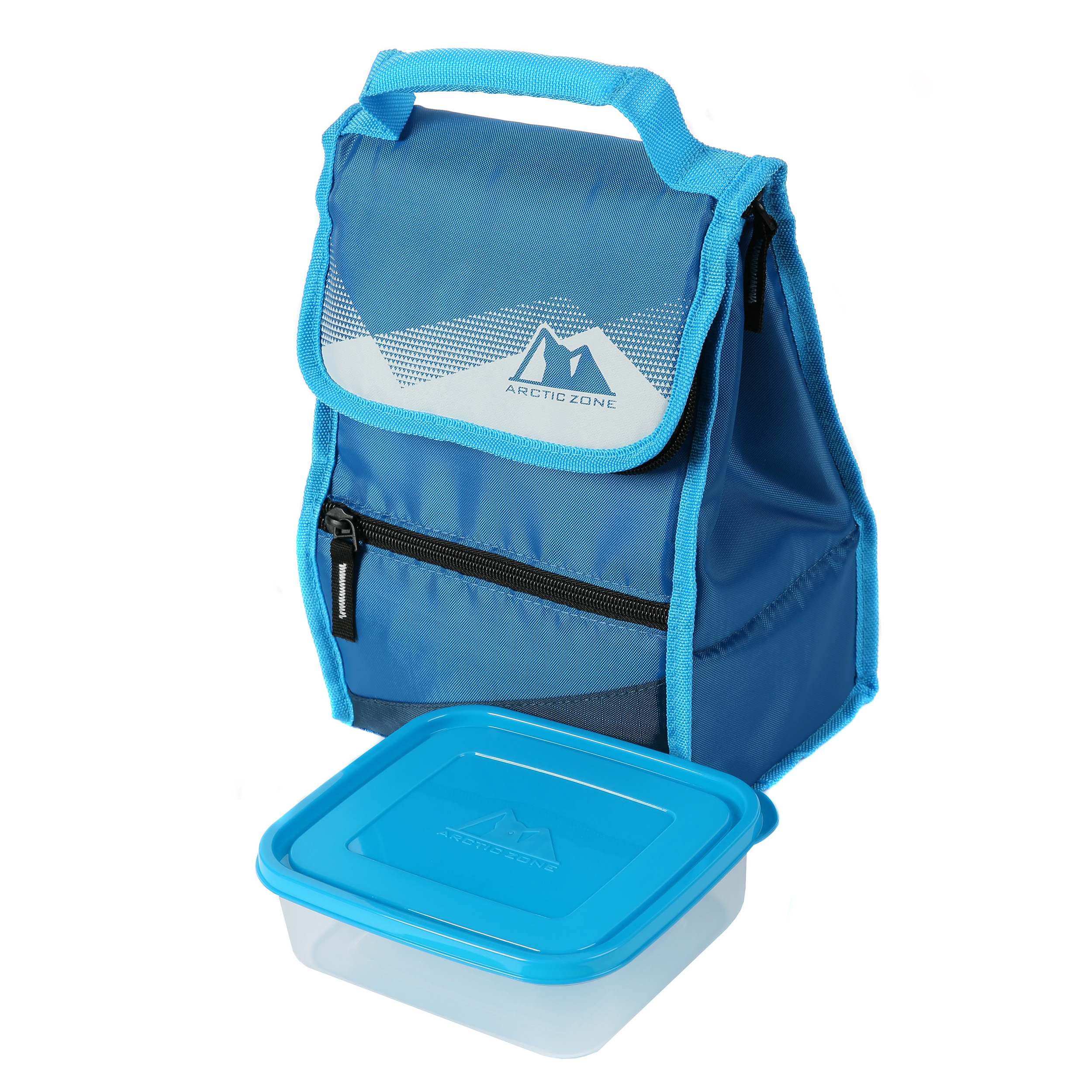 Arctic Zone Hi-Top Black Power Pack Lunch Bag, 1 Each