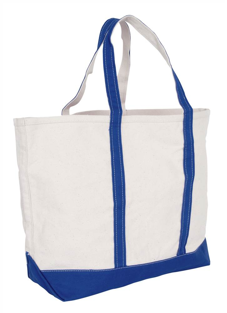 Liberty Bags 7006 Tote Bag Bay View Giant Zippered Boat Bag ...