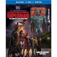 Death And Return Of Superman: The Complete Film Collection Giftset (Blu-ray + DVD + Digital Copy)