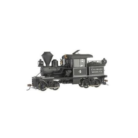 Bachmann On30 Scale Train 14 Ton Two-Truck Stearns-Heisler Steam Loco DCC Equipped Colorado Mining Co. 28801