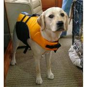 Petego SALTYDOG M OR Salty Dog Pet Life Vest, Medium, Orange, Fits girth 27 in. to 32 in.
