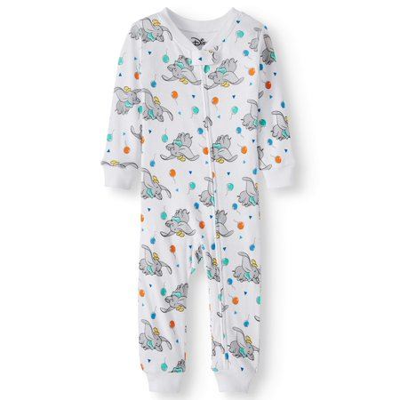 Cotton Sleeper Pajamas - Baby Boys' Dumbo Cotton Footless Pajama Sleeper