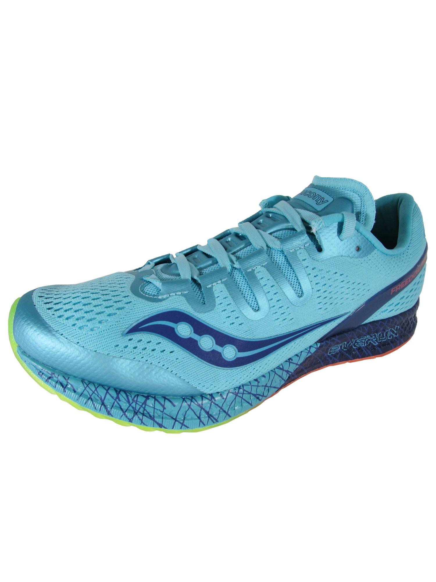Saucony Women's Freedom Iso Black Ankle-High Mesh Running Shoe - 8.5M