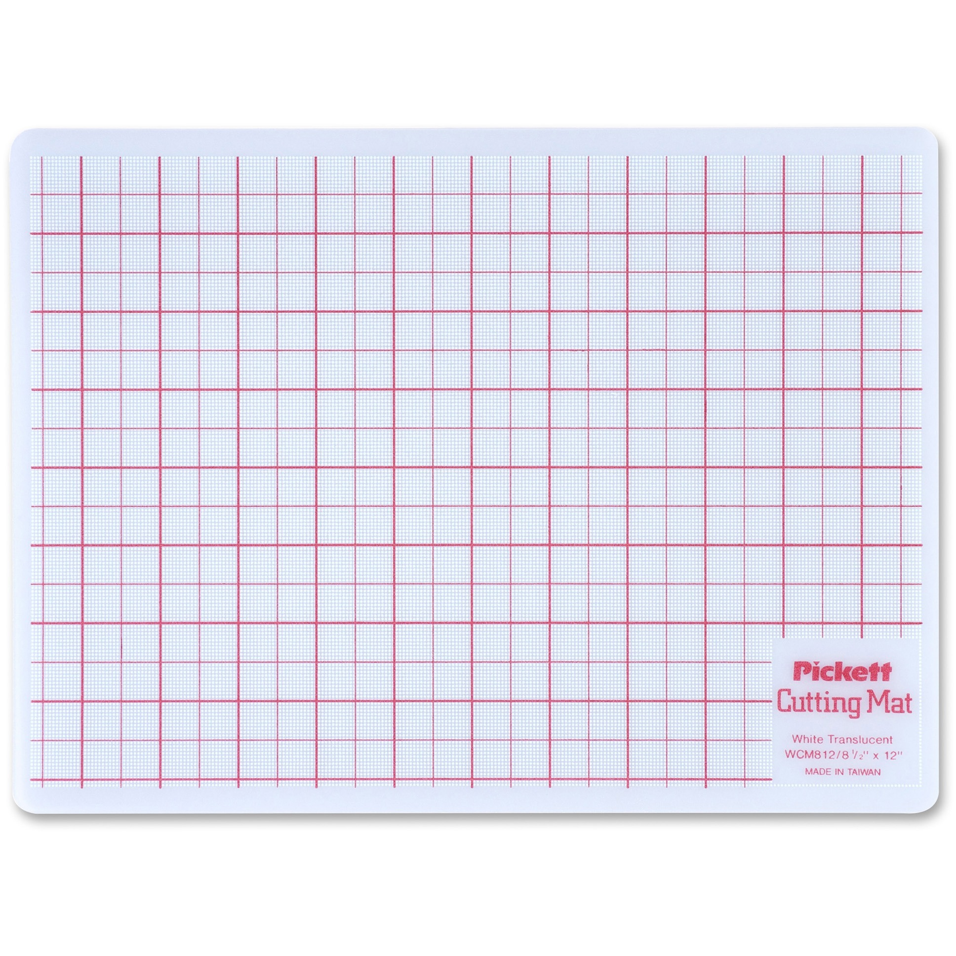 Chartpak, CHAWCM812, Cutting Mat, 1 Each, White