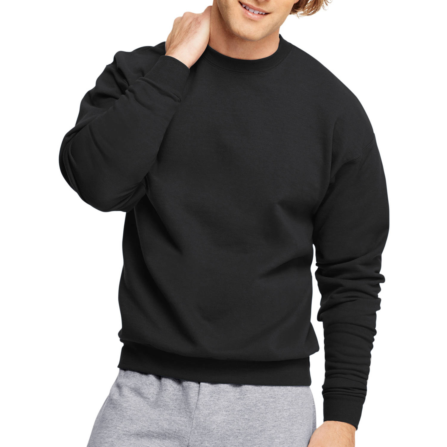 Hanes Big Men's EcoSmart Fleece Sweatshirt