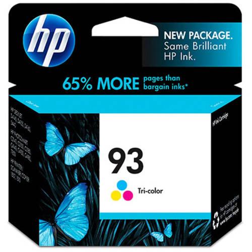 HP 93 Tri-color Original Ink Cartridge (C9361WN)