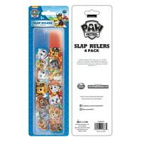 Nickelodeon Paw Patrol Slap Bracelet Party Favors, 4 Count