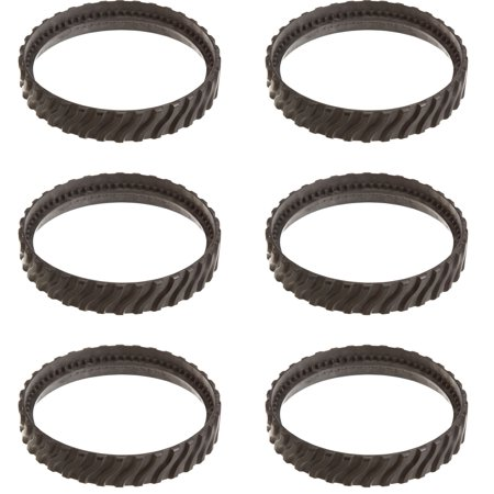 Zodiac Baracuda MX8 Swimming Pool Cleaner Replacement Tire Track Wheel (6  Pack)