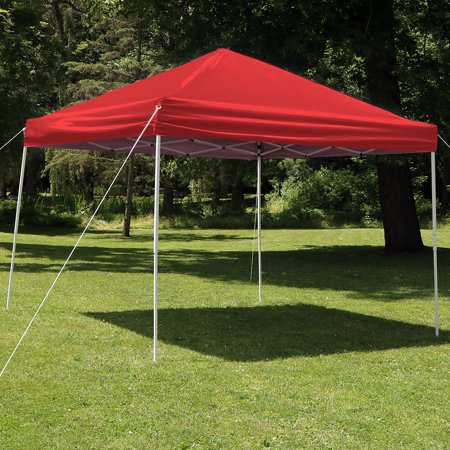 Sunnydaze Quick Up Instant Canopy Event Tent Shelter w/ Bag - Multiple