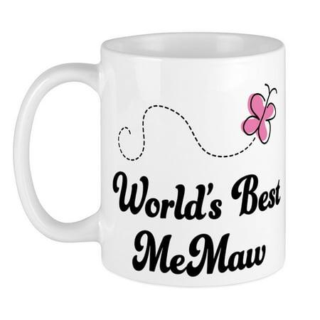 CafePress - Worlds Best Memaw Mug - Unique Coffee Mug, Coffee Cup (Best Coffee In The World Ranking 2019)