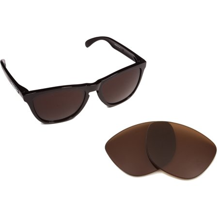 Replacement Lenses Compatible with OAKLEY Frogskins Polarized Bronze Brown (Blau Frogskins)