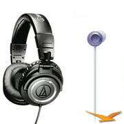 Audio-Technica ATH-M50 Pro Studio Monitor and ATH-CKF300 FashionFidelity Bloom Headphones Kit