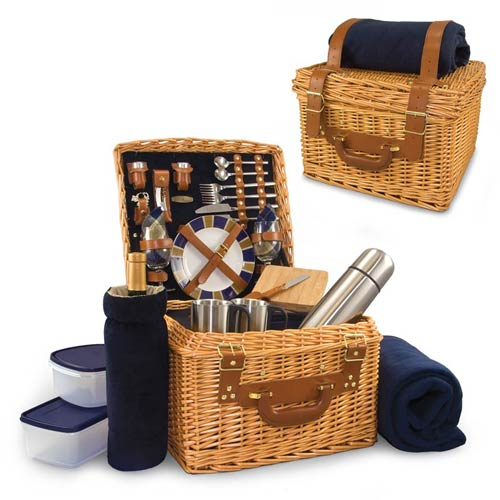 Picnic Time 212-86-915 Canterbury Picnic Basket and Blanket