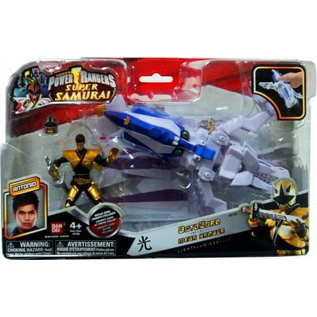 Power Ranger Zord Vehicle W Figure  Octozord With Gold Ranger