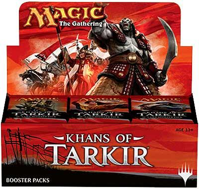 Magic The Gathering Khans of Tarkir Booster Box by Wizards of the Coast
