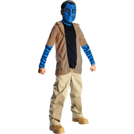 Avatar Jake Sully Child Halloween Costume](Avatar Womens Costume)