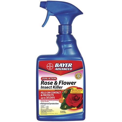 Bayer Dual Action Rose and Flower Insect Killer Ready-To-Use