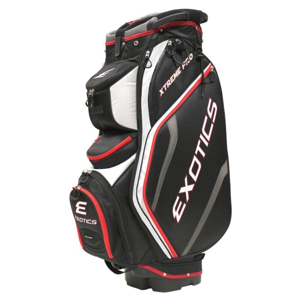 "Tour Edge Golf Exotics Xtreme Pro Deluxe Cart Bag (13"" 16..."