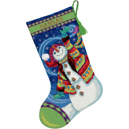 Stocking Wool Needlepoint (Dimensions