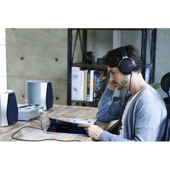 Sony MDRZ7 Hi-Res Over Ear Headphones - Walmart com