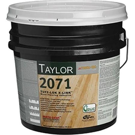 wf taylor 2071 4 4 gal tuff lok x link wood flooring adhesive