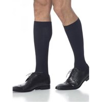 Sigvaris Men's Midtown Microfiber 15-20 mmHg-Medium Long-Black
