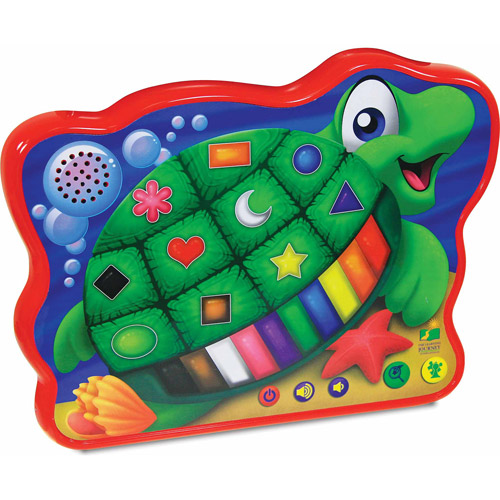 The Learning Journey Touch and Learn Series, Color and Shape Turtle