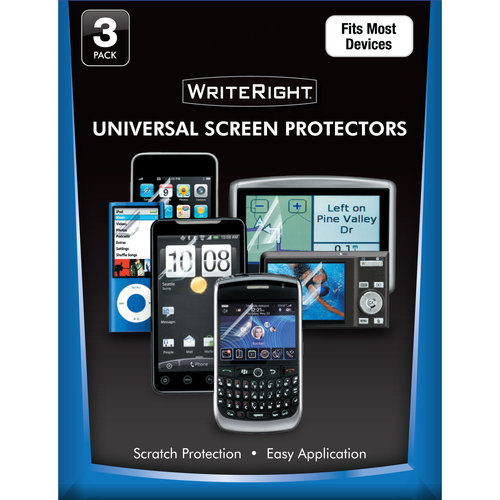 Fellowes WriteRight Screen Protector, 3-Pk