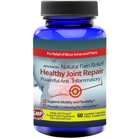 Totally Products Healthy Joint Repair Anti-inflammatory Pain Relief Supplement (60