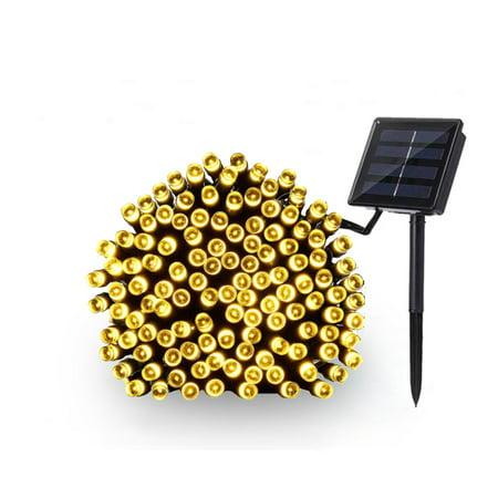 Onever 100 LEDs Solar String Light Outdoor Waterproof Garden Decoration Christmas Solar Powered Lamp Fairy Strip Light