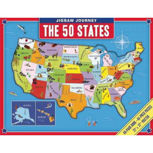 Jigsaw Journey: The 50 States