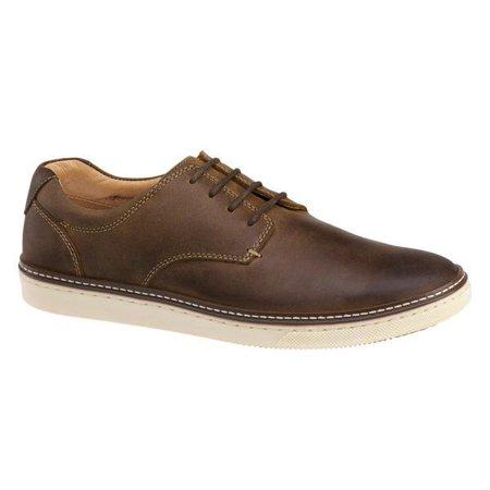 Tan Oiled Full Grain - Johnston & Murphy - McGuffey Tan Oiled Full Grain Casual Lace-Up Shoes - 25-1642