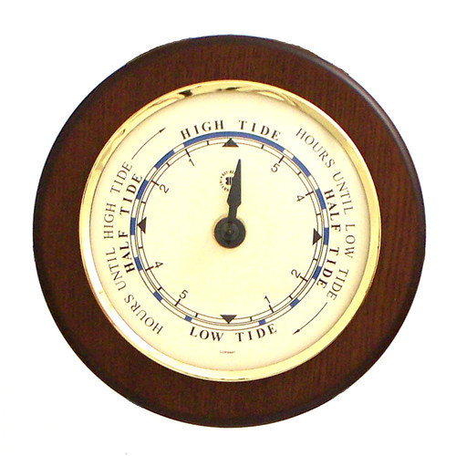 Bey-Berk 5.35'' Tide Wall Clock